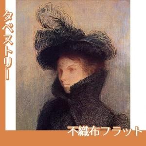 ルドン「マリー・ボトキン:アストラカンのコート」【タペストリー:不織布フラット100g】