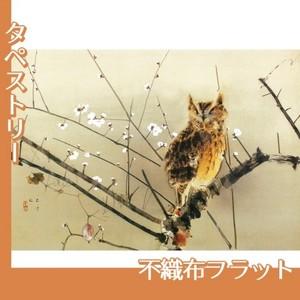西村五雲「寒梅」【タペストリー:不織布フラット100g】