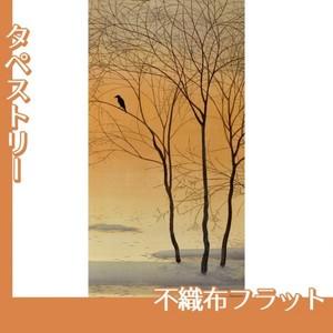 菱田春草「暮色」【タペストリー:不織布フラット100g】