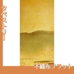 下村観山「納涼」【タペストリー:不織布フラット100g】