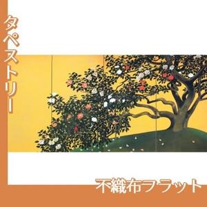 速水御舟「名樹散椿」【タペストリー:不織布フラット100g】