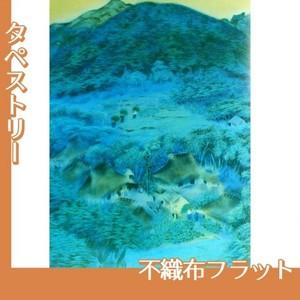 速水御舟「洛北修学院村1」【タペストリー:不織布フラット100g】