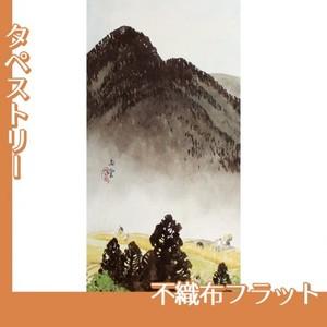 川合玉堂「遠雷麦秋1」【タペストリー:不織布フラット100g】