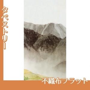 川合玉堂「遠雷麦秋2」【タペストリー:不織布フラット100g】