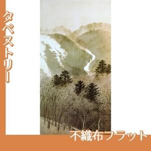 川合玉堂「峰の夕1」【タペストリー:不織布フラット100g】