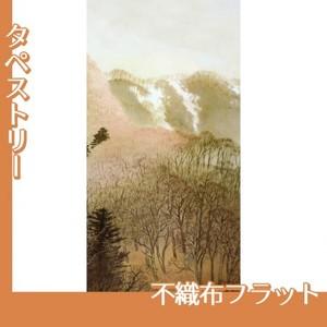 川合玉堂「峰の夕2」【タペストリー:不織布フラット100g】