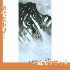 川合玉堂「山村深雪1」【タペストリー:不織布フラット100g】