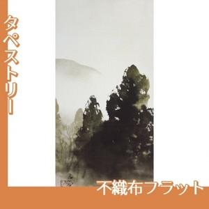 川合玉堂「冬の月1」【タペストリー:不織布フラット100g】