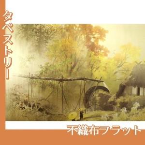 川合玉堂「彩雨」【タペストリー:不織布フラット100g】