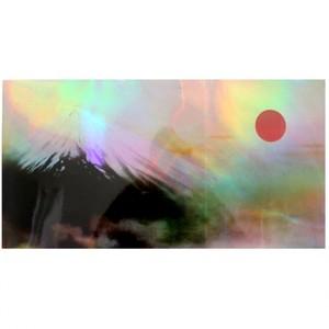横山大観「日出処日本」【ホログラム額装向け複製画】