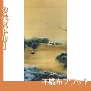 横山大観「月下牧童」【タペストリー:不織布フラット100g】