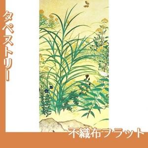 横山大観「野の花1」【タペストリー:不織布フラット100g】