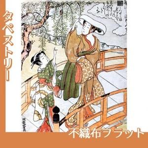 礒田湖龍斎「風流源氏 うつせみ」【タペストリー:不織布フラット100g】