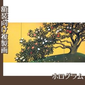 速水御舟「名樹散椿」【複製画:ホログラム】