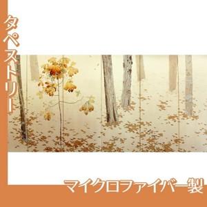 菱田春草「落葉(左)」【タペストリー:マイクロファイバー】