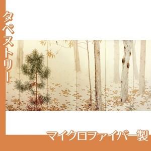 菱田春草「落葉(右)」【タペストリー:マイクロファイバー】