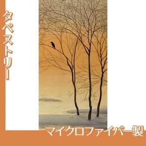 菱田春草「暮色」【タペストリー:マイクロファイバー】