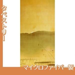 下村観山「納涼」【タペストリー:マイクロファイバー】