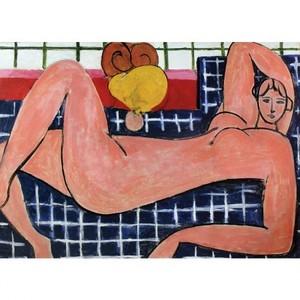 マティス「横たわる大きな裸婦」【ハンカチ・コースター・複製画】