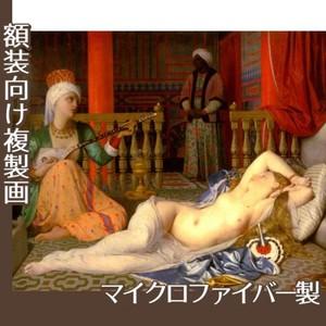 アングル「奴隷のいるオダリスク」【複製画:マイクロファイバー】