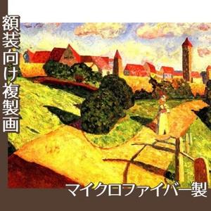 カンディンスキー「古い都市2」【複製画:マイクロファイバー】