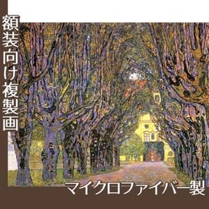 クリムト「カンマー城公園の並木道」【複製画:マイクロファイバー】