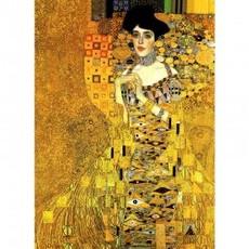 クリムト「アデーレ・ブッロホ=バウアーの肖像」【ハンカチ・コースター・複製画】