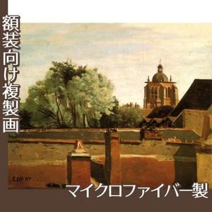 コロー「オルレアンのサン-パテルヌ教会鐘楼」【複製画:マイクロファイバー】