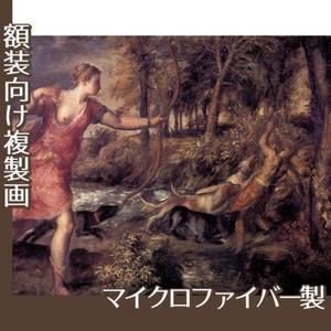 ティツアーノ「アクタイオンの死」【複製画:マイクロファイバー】