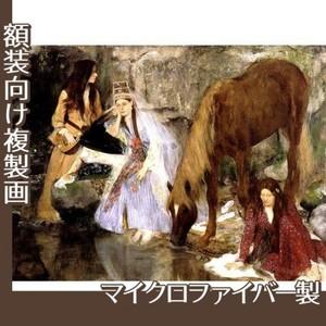 ドガ「バレエ「泉」のフィオルク嬢」【複製画:マイクロファイバー】