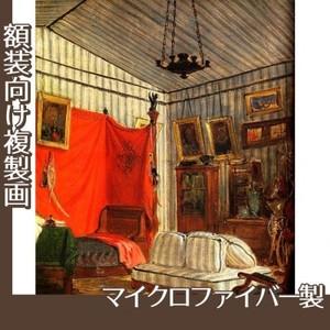 ドラクロワ「モルネー伯爵の居室」【複製画:マイクロファイバー】