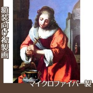 フェルメール「聖女プラクセディス」【複製画:マイクロファイバー】