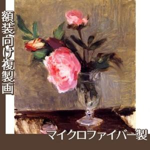 モリゾ「牡丹」【複製画:マイクロファイバー】