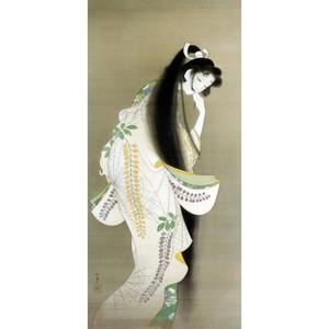 上村松園「焔」【窓飾り】