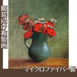 ルドン「花びんと花」【複製画:マイクロファイバー】