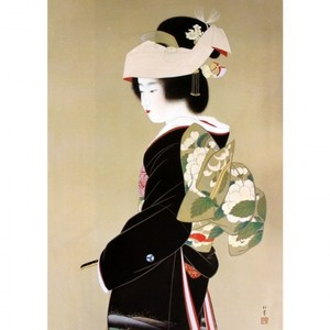 上村松園「花嫁」【額装向け複製画】