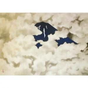 横山大観「山に因む十題:霊峰四趣・夏」【窓飾り】