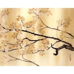 横山大観「春雨」【窓飾り】