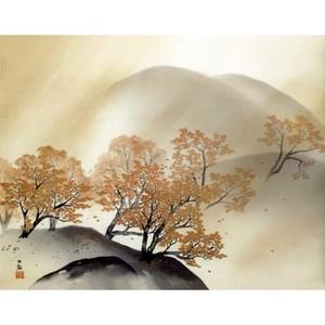 横山大観「秋夕」【窓飾り】