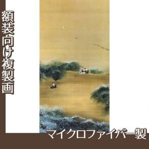 横山大観「月下牧童」【複製画:マイクロファイバー】