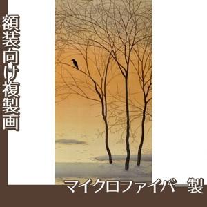 菱田春草「暮色」【複製画:マイクロファイバー】