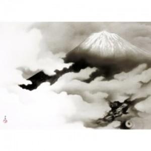 横山大観「龍踊る」【額装向け複製画】