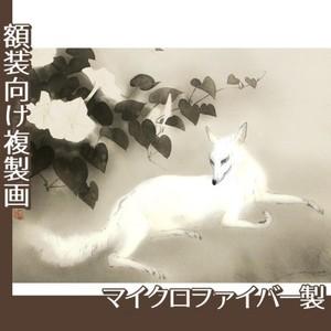 橋本関雪「夏夕」【複製画:マイクロファイバー】