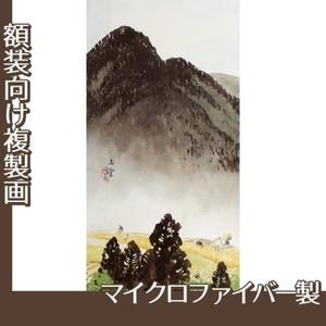 川合玉堂「遠雷麦秋1」【複製画:マイクロファイバー】