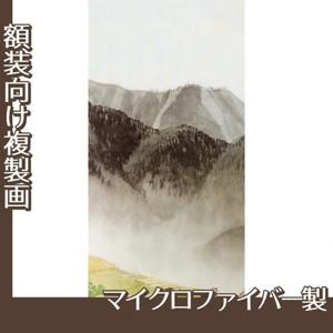 川合玉堂「遠雷麦秋2」【複製画:マイクロファイバー】