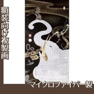 伊藤若冲「白象群獣図」【複製画:マイクロファイバー】