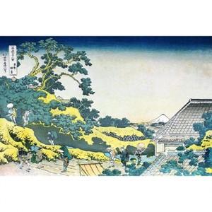 葛飾北斎「富嶽三十六景 東都駿台」【タペストリー】
