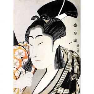 歌川国政「二代目中村野塩の桜丸」【窓飾り】