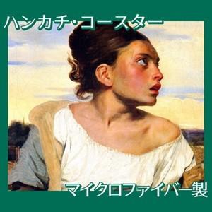 ドラクロワ「墓場の孤児」【ハンカチ・コースター】
