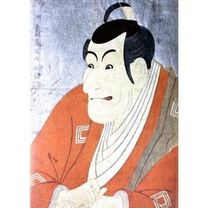 東洲斎写楽「市川蝦蔵の竹村定之進」【タペストリー】